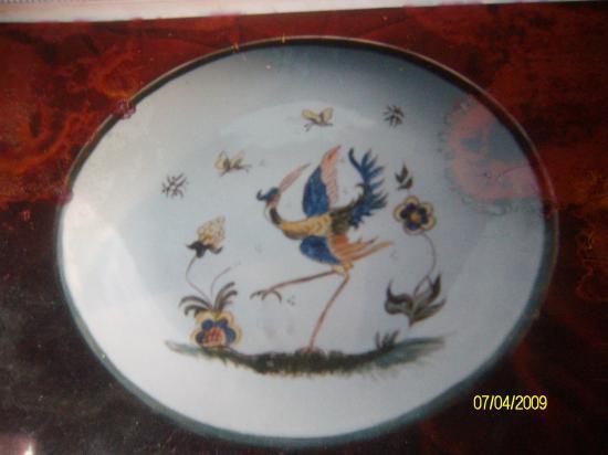 peinture sur porcelaine peinte par Maria
