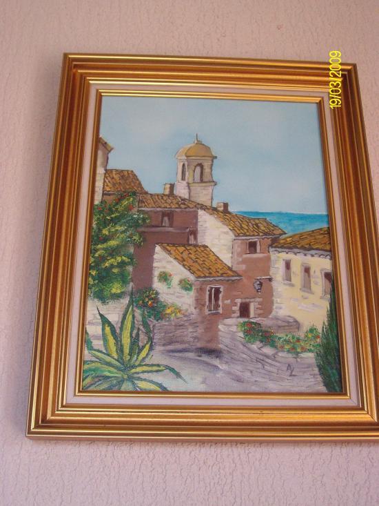tableau peint par Alain