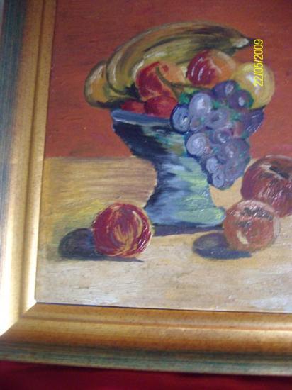 peinture à l'huile de Maria