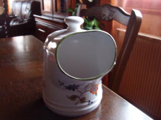 """Pot à coton façon """"moustier"""""""