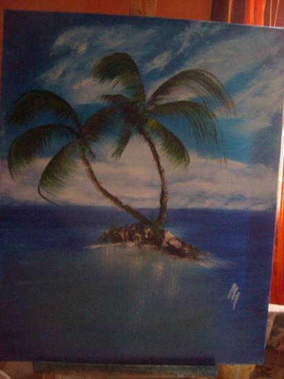 L'île Paradiso de MARIAPEINT